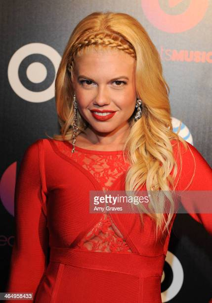 Chanel West Coast attends Beats Music Launch Party At Belasco Theatre at Belasco Theatre on January 24 2014 in Los Angeles California