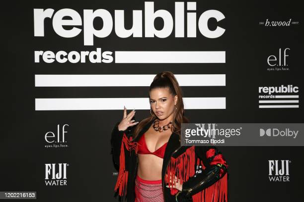 Chanel West Coast attends Republic Records Grammy After Party at 1 Hotel West Hollywood on January 26 2020 in West Hollywood California