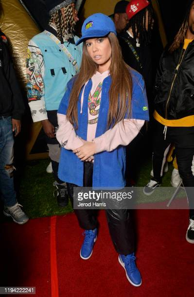 Chanel West Coast attends Rolling Loud Los Angeles 2019 Fueled by West Coast Cure on December 15 2019 in Los Angeles California
