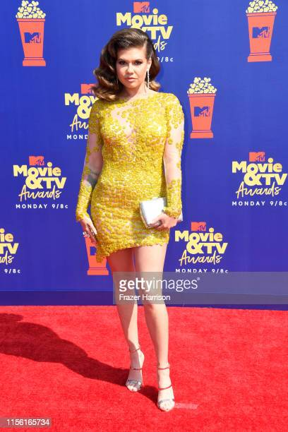 Chanel West Coast attends the 2019 MTV Movie and TV Awards at Barker Hangar on June 15 2019 in Santa Monica California
