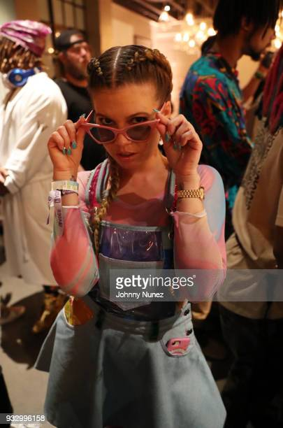 Chanel West Coast attends The Fader Fort 2018 Day 3 on March 16 2018 in Austin Texas