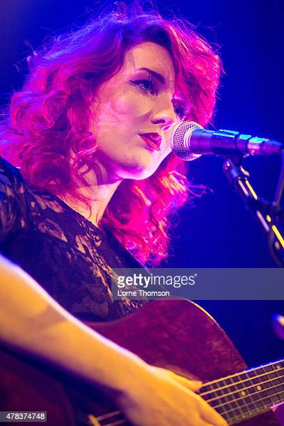Chanele McGuinness performs at Islington Assembly Hall on June 24 2015 in London United Kingdom