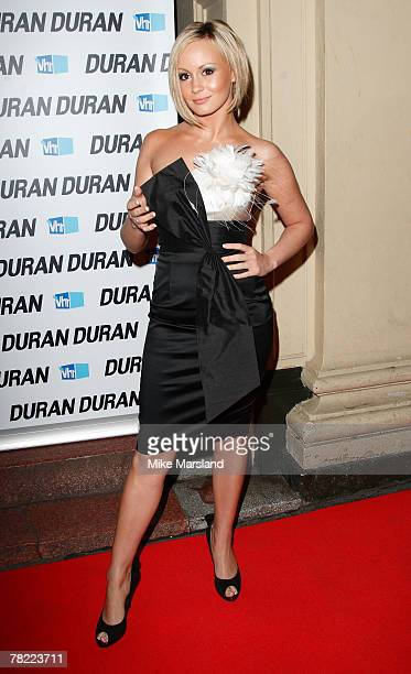 Chanelle Hayes attend a one night only Duran Duran concert to celebrate the release of the band's highly anticipated new album 'Red Carpet Massacre'...