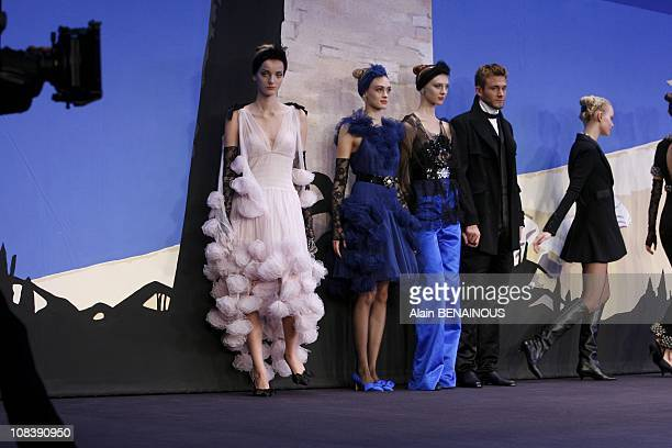 Chanel's fashion show in Monaco on December 07 2006