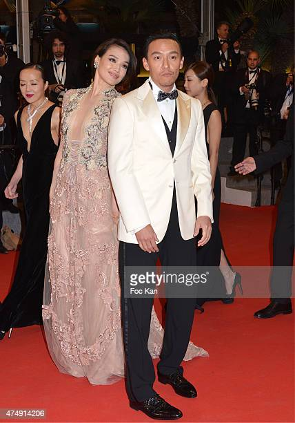 Chang Chen and Shu Qi attend the Premiere of 'Nie Yinniang' during the 68th annual Cannes Film Festival on May 21 2015 in Cannes France
