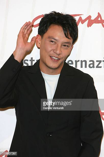 Chang Chen during 1st Annual Rome Film Festival 'The Go Master' Photocall in Rome Italy