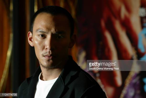 Chang Chen Taiwanese heartthrob from movie Crouching Tiger Hidden Dragon pictured at UA Directors Club Cityplaza Taikoo 26 April 2005