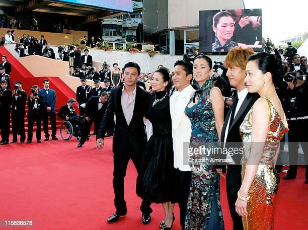 Chang Chen Zhang Ziyi Tony Leung Gong Li Kimura Takuya and Carina Lau