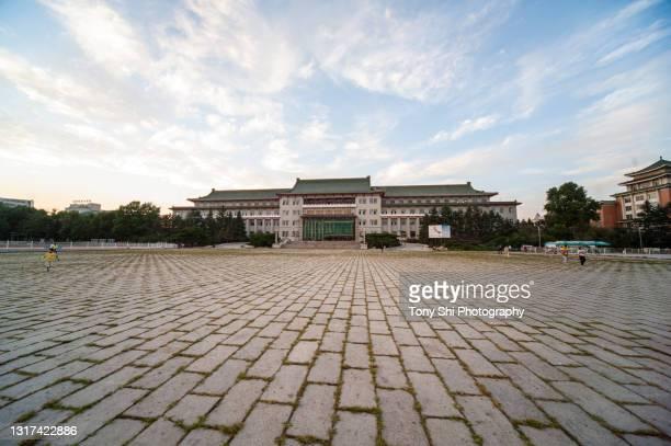 changchun culture plaza, a former manchurian building - 満州地方 ストックフォトと画像