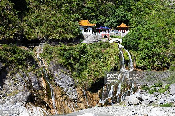 Changchun Temple in Taroko Gorges, Taiwan