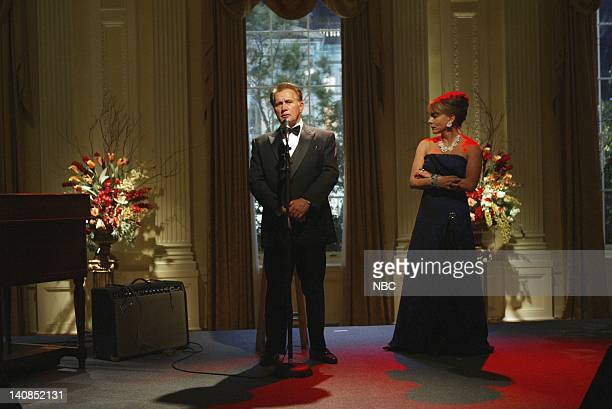 WING 'A Change Is Gonna Come' Episode 7 Aired 12/1/04 Pictured Martin Sheen as President Josiah 'Jed' Bartlet Stockard Channing as Abbey Bartlet...