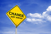 Change just ahead - roadsign information