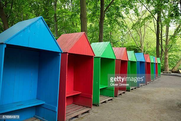 Change sheds Tiergarten