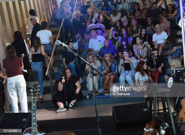 Change the Conversation Slacker Radio #WCE Country Launch Party at The Steps at WME on August 7 2018 in Nashville Tennessee