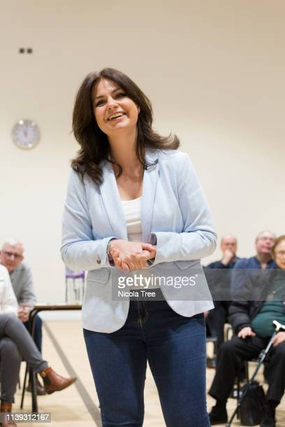 Change UK Interim Leader Heidi Allen Holds First Public Meeting in her South Cambridgeshire constituency to discuss her reasons for leaving the...