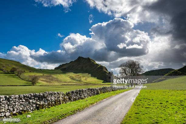 Changeable weather in the Peak District, England