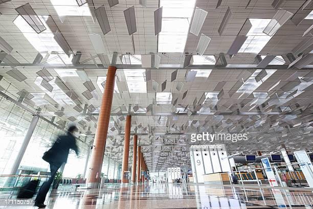 Aeroporto di Changi Terminal 3, Singapore.