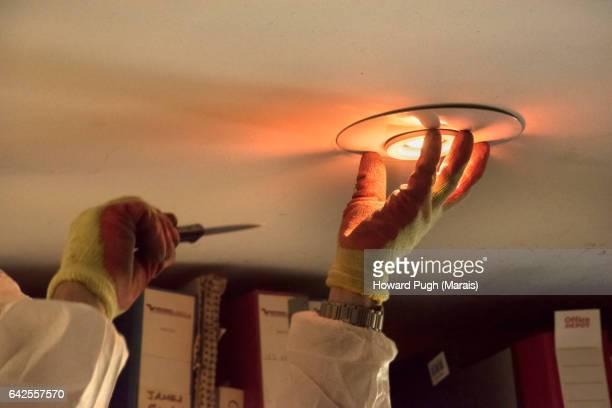 Changing A Light Bulb or Crime Scene Investigation