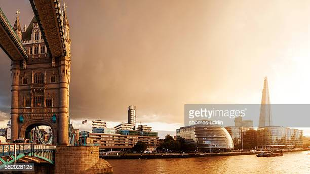 Changing faces of London skyline