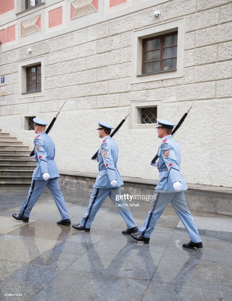 Changing of the guards : Stock Photo