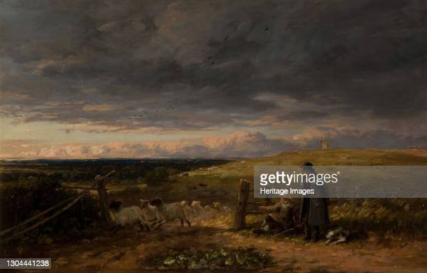Changing Pasture, 1847. Artist David Cox the elder.