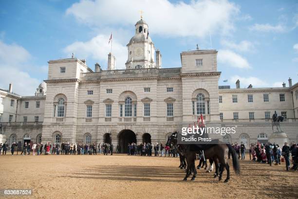 Changing The Queen's Life Guard at Horse Guards Parade The Queen's Life Guard is normally provided by men of the Household Cavalry Mounted Regiment...