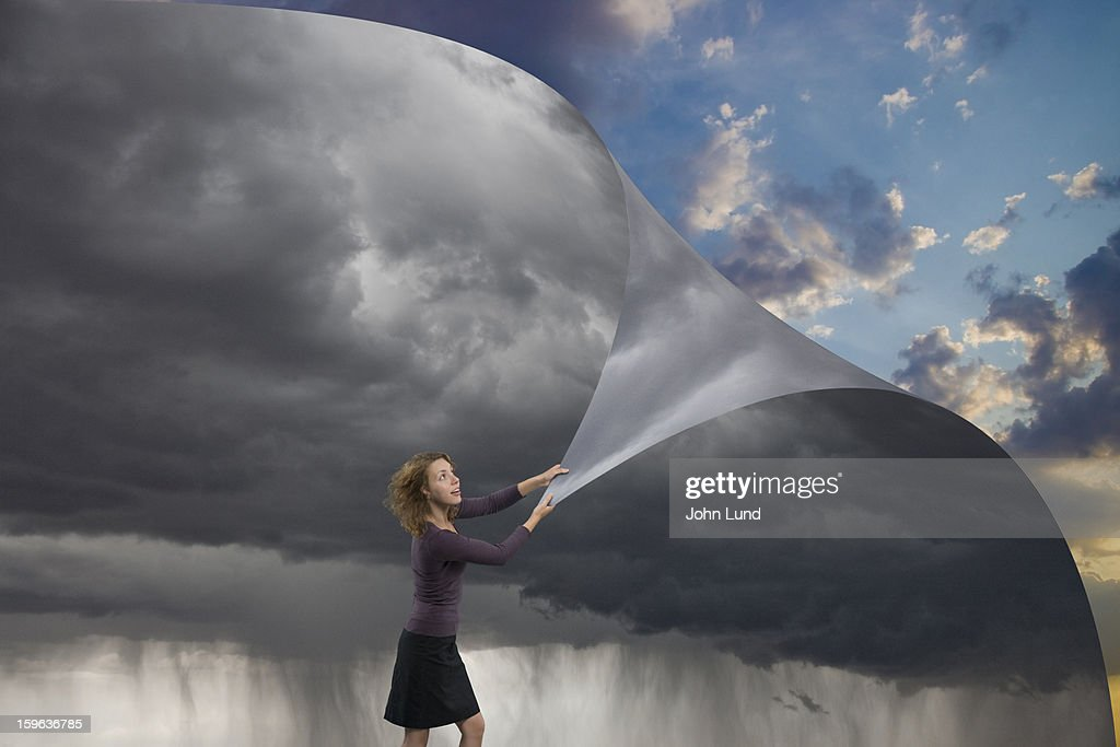 Changing the skies : Stock Photo