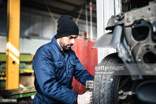 Modifier la pneu