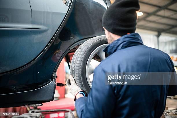 Der Reifen ändern