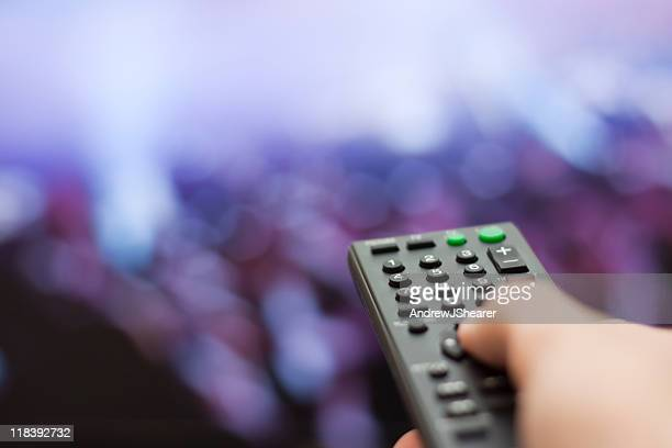 Changing TV Channel