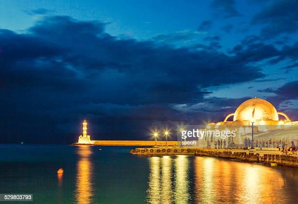 Chania waterfront (Crete, Greece)