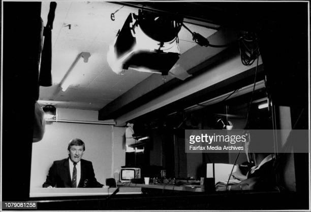 Channel 10 Football Commentators Ray Warren March 26 1986