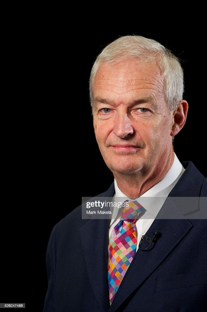Channel 4 ITV news anchor Jon Snow broadcasts live from the