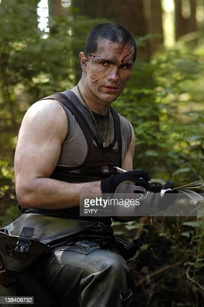 Channel 'Fragged' Episode 3 Aired Pictured Samuel Witwer as Lieutenant Alex 'Crashdown' Quartararo