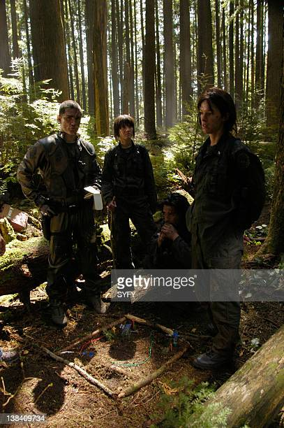 Channel 'Fragged' Episode 3 Aired Pictured Samuel Witwer as Lieutenant Alex 'Crashdown' Quartararo Nicki Clyne as Crewman Specialist Cally Henderson...