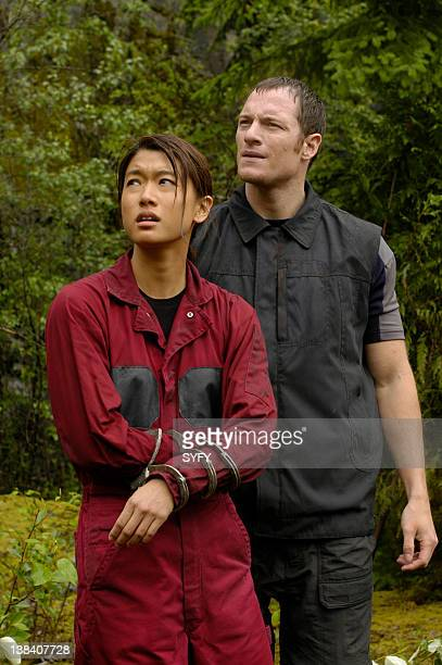 Channel Home Part 1 Episode 6 Air Date Pictured Grace Park as Lieutenant Sharon 'Boomer' Valerii Tahmoh Penikett as Captain Karl 'Helo' Agathon