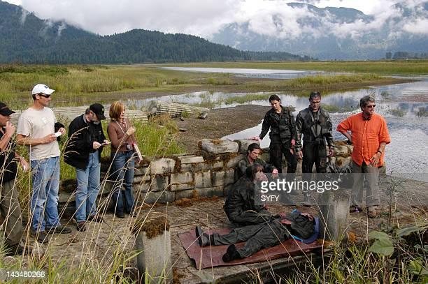 Channel 'Kobol's Last Gleaming Part 1 2' Episode 12 13 Aired 1/17/05 01/24/05 Pictured Camera operator Joel Guthro Director of Photography Steve...