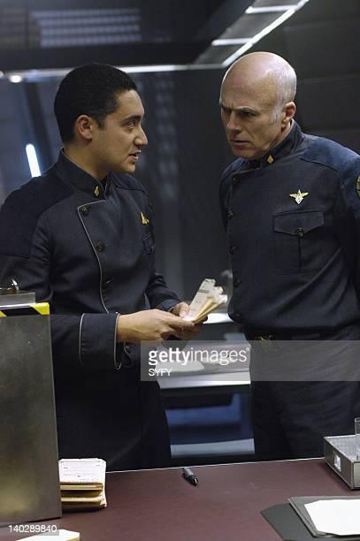 Channel 'Lay Down Your Burdens Part 1' Episode 19 Air Date Pictured Alessandro Juliani as Lieutenant Felix Gaeta Michael Hogan as Colonel Saul Tigh...