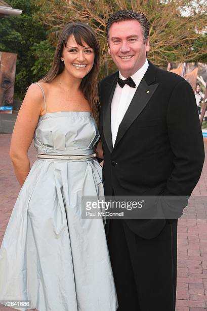 Channel Nine CEO Eddie McGuire and his wife Carla attend the annual Taronga Zoo ball this year named the Elephant Ball to celebrate the arrival of...