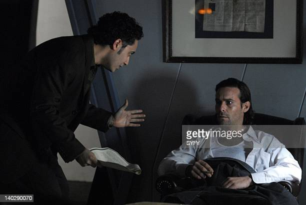 Channel 'Occupation/Precipice' Episode 301 302 Air Date Pictured Alessandro Juliani as Lieutenant Felix Gaeta James Callis as President Gaius Baltar...