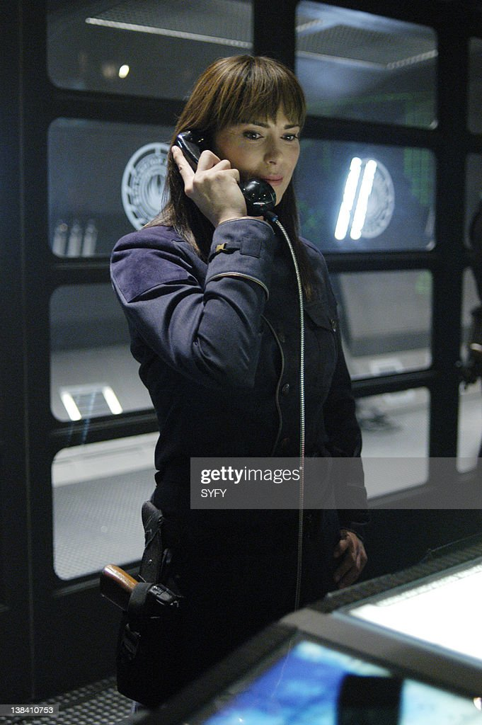 """Channel -- """"Pegasus"""" Episode 10 -- Air Date -- Pictured ... Michelle Forbes Battlestar Galactica"""