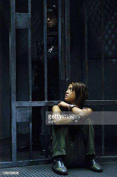 Channel Resistance Episode 4 Aired Pictured Grace Park as Lieutenant Sharon 'Boomer' Valerii