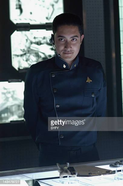 Channel 'The Hand of God' Episode 10 Aired 1/3/05 Pictured Alessandro Juliani as Felix Gaeta