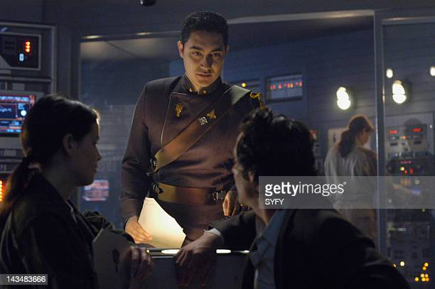 Channel 'Water' Episode 2 Aired 10/25/04 Pictured Alessandro Juliani as Lt Felix Gaeta
