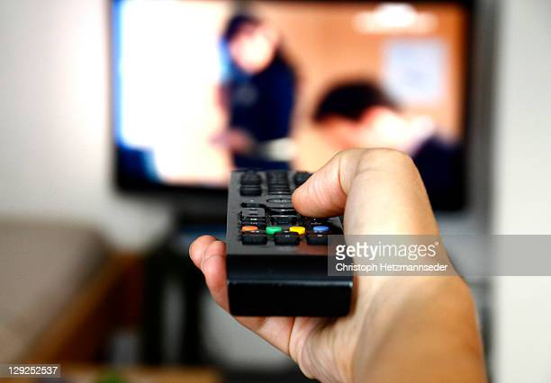tv channel zapping - television show stock pictures, royalty-free photos & images