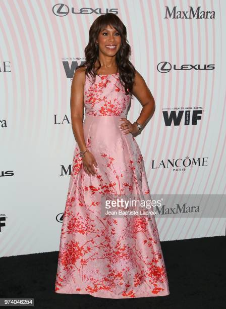 Channing Dungey attends the Women In Film 2018 Crystal Lucy Awards at The Beverly Hilton Hotel on June 13 2018 in Beverly Hills California