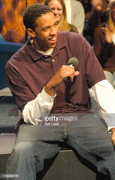 Channing Frye during Channing Frye Visits Fuse Network December 22 2005 at Fuse in New York New York United States
