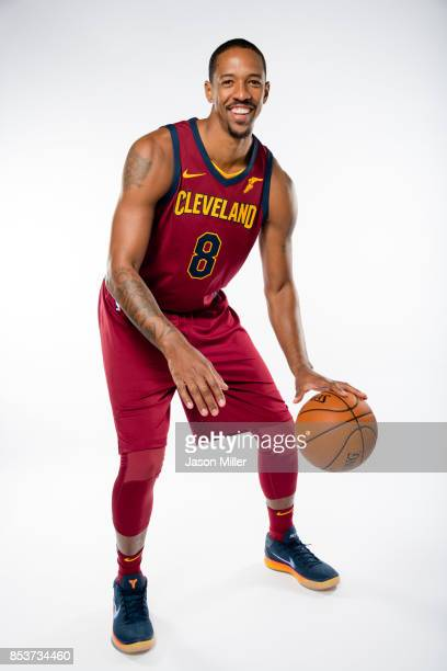 Channing Frye of the Cleveland Cavaliers poses during media day at Cleveland Clinic Courts on September 25 2017 in Independence Ohio NOTE TO USER...