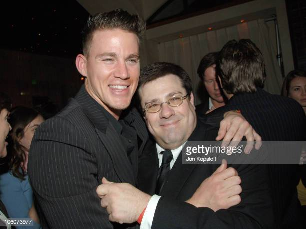 Channing Tatum and Andy Fickman director during DreamWorks' She's the Man Los Angeles Premiere After Party at Napa Valley Bar Grill in Westwood...