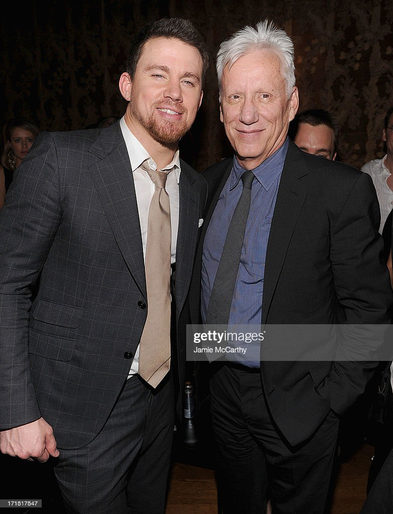Channing Tatum and James Woods attend 'White House Down' New York Premiere at on June 25, 2013 in New York City.